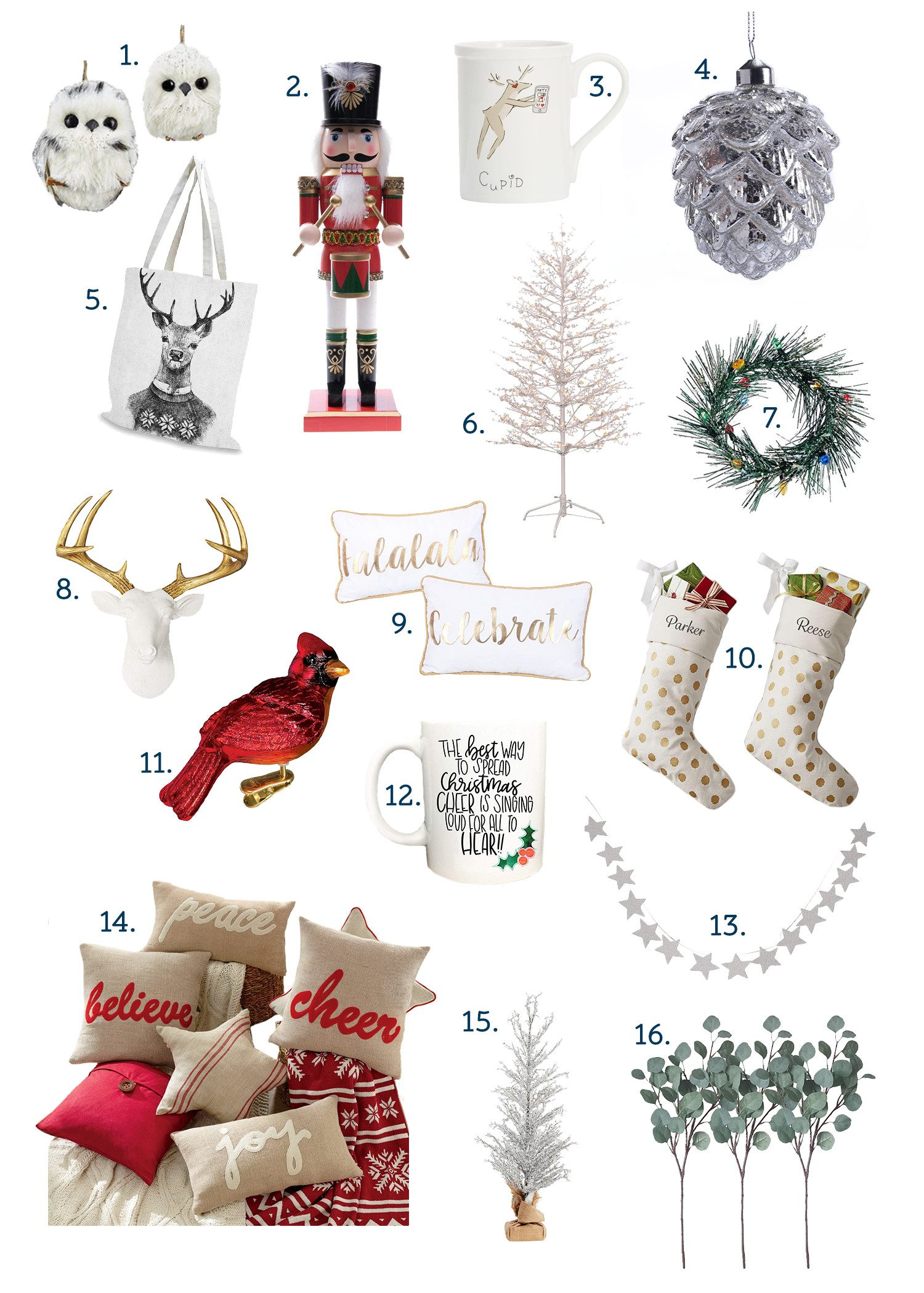My Favourite December Things (For Christmas Decorating!)