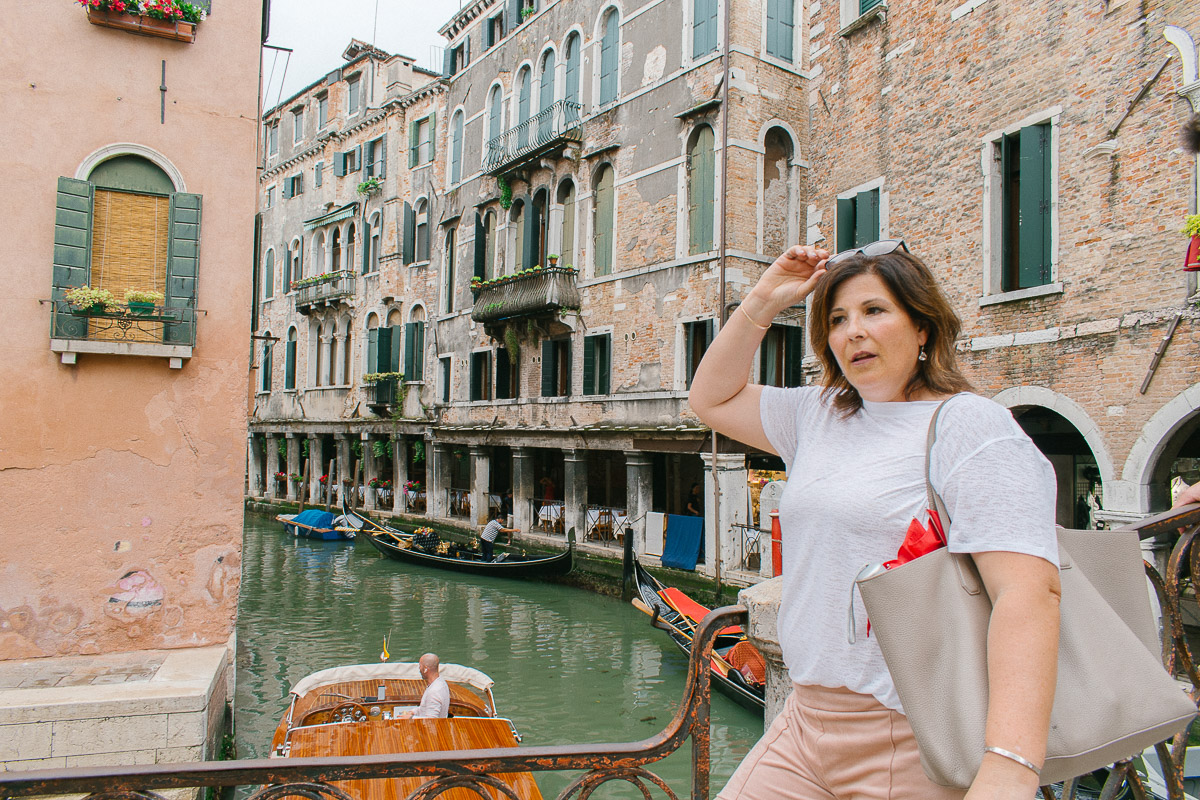 Traveling in Venice: Taking the scenic route, always