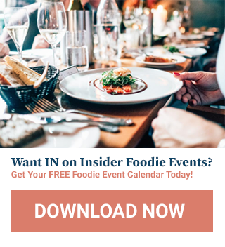 Foodie Event Calendar